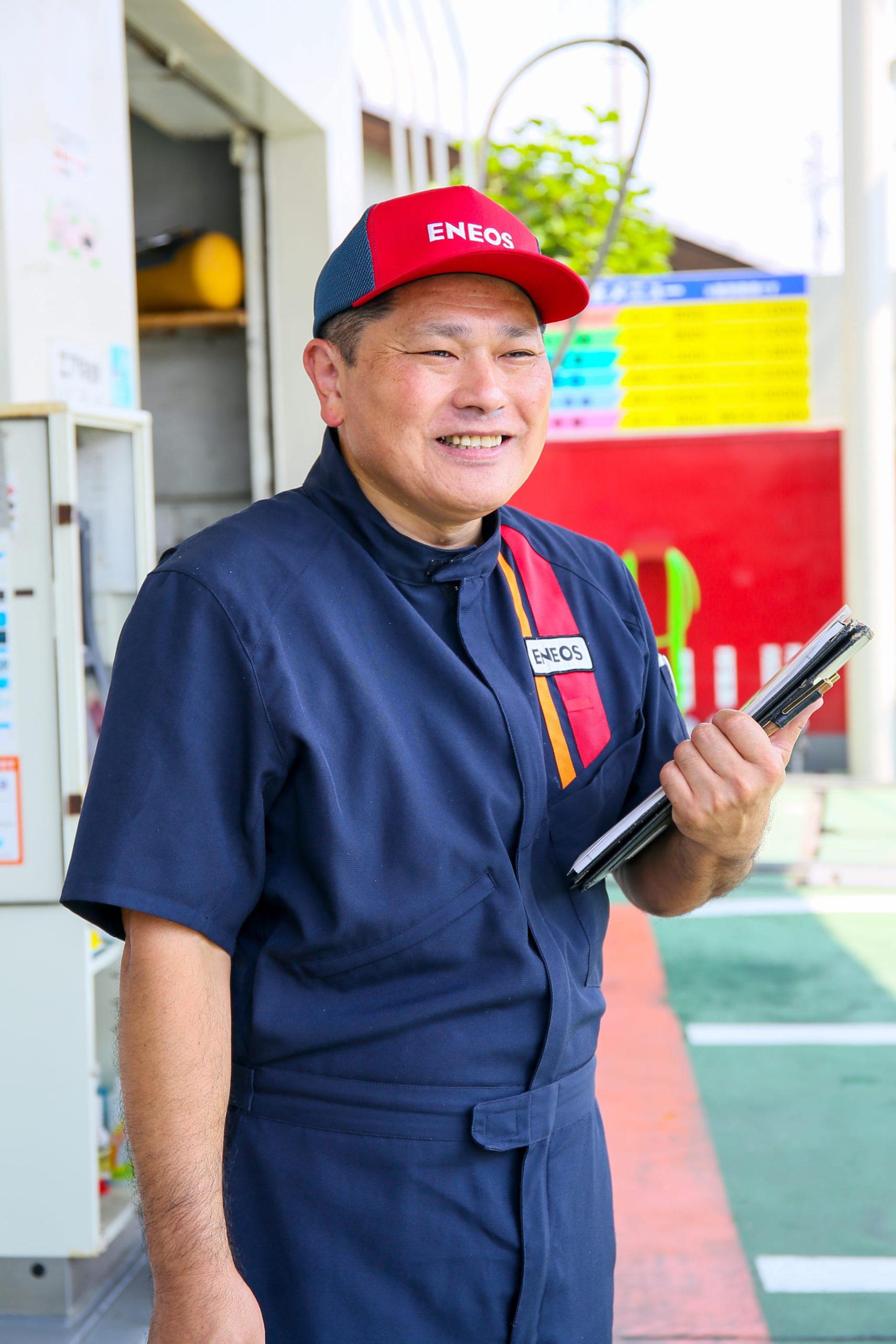 草ケ谷燃料株式会社の代表